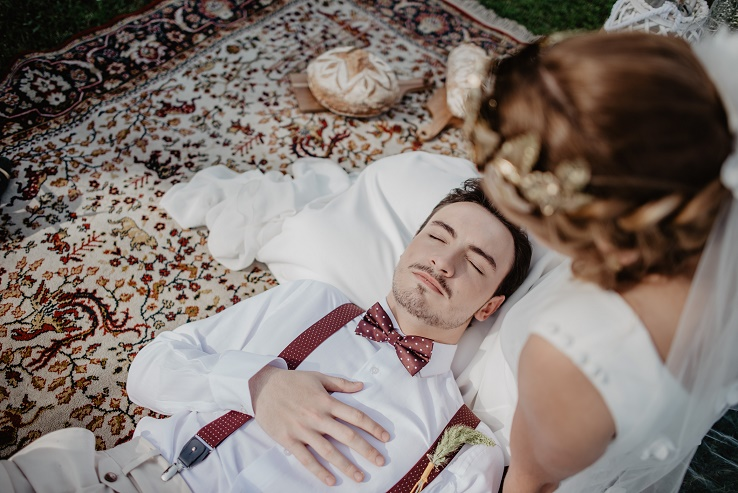 boda afectada por el coronavirus relax